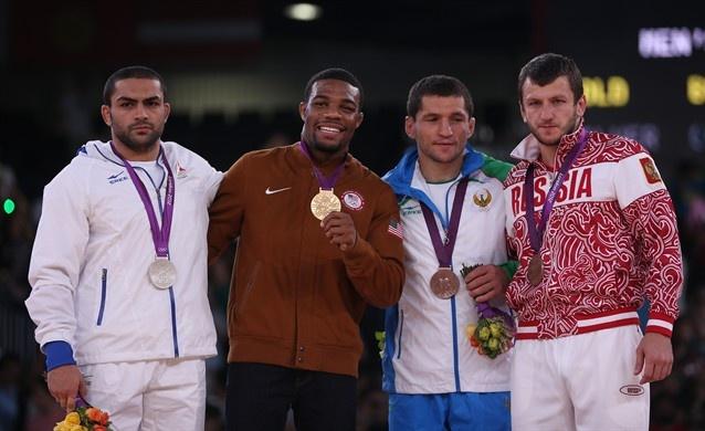 Best Of London: Day 14 - Slideshows   USA Gold Men's Freestyle 74kg Wrestling