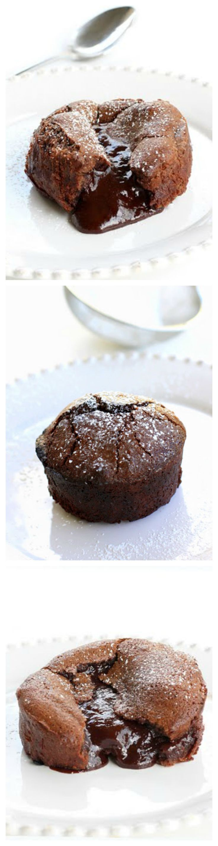 Roy's Chocolate Souffle - also called lava cakes. Rich and decadent. I ate 3 in one sitting. the-girl-who-ate-everything.com