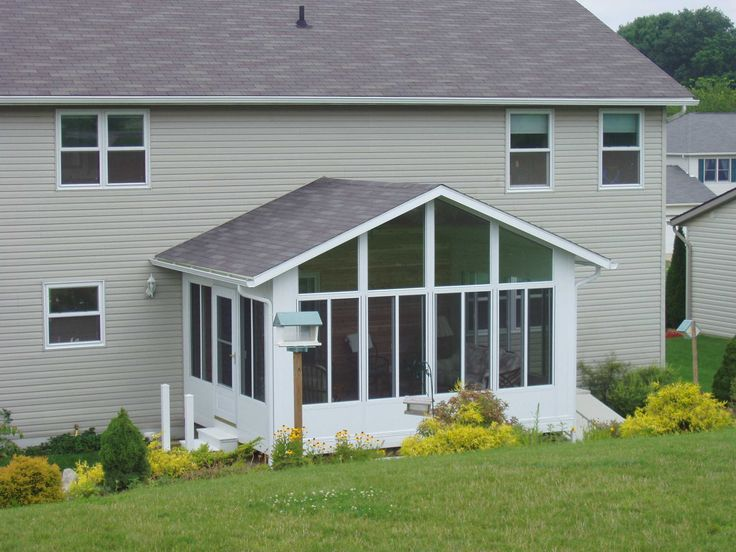 Sunroom sunroom addition adds more than just light to a for How to build a sunroom addition