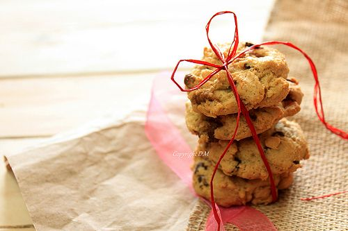 Oil Chocolate Chip Cookies