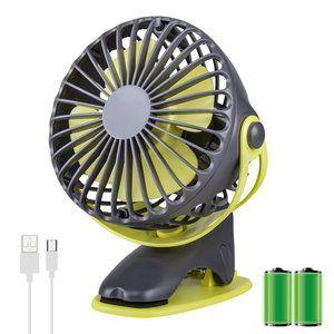 Usb扇風機 卓上扇風機 扇風機 卓上 クリップ Ninonly ミニ扇風機 卓上ファン 小型扇風機 Usb 乾電池両対応 省エネ 4段風量 Usb 扇風機 扇風機 卓上 扇風機