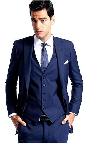 Classic Gunmetal Grey Suit by Knot Standard