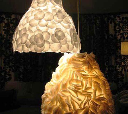Como fazer luminária de feltro - Artesanato passo a passo!