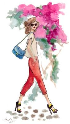 Fashion Girl Sketches Tumblr Iwate Kokyo