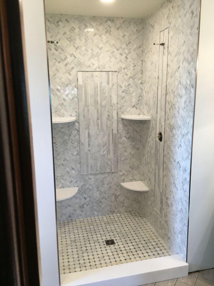 Carrara Marble Bathroom Floor