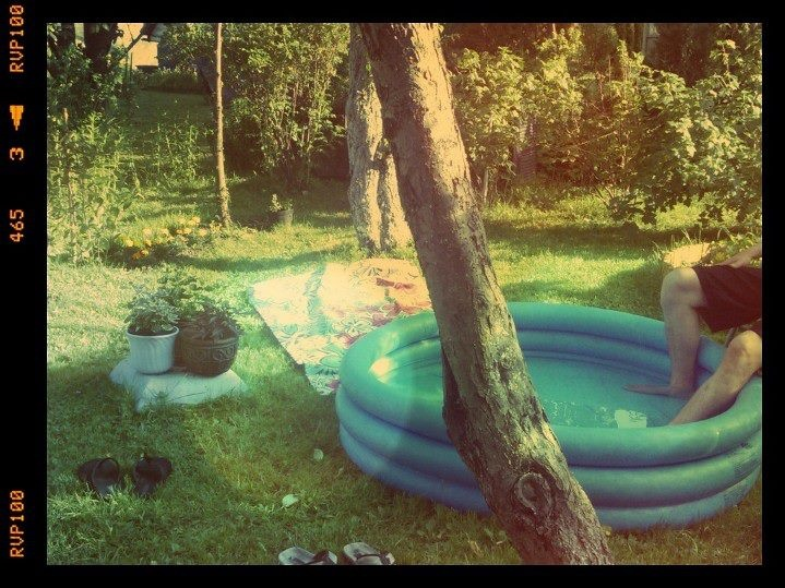 chilling in a hot day ;)