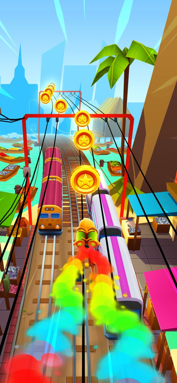 Subway Surfers on the App Store Subway surfers, Subway