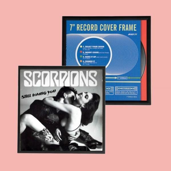 Dépoussiérez vos vieux disques collector, et avec ce cadre pochette vinyle 45 tours, exposez vos plus belles pièces... rock, pop, variétés, la touche rétro déco est en marche ! #vinyle #vintage #culte #musique #music
