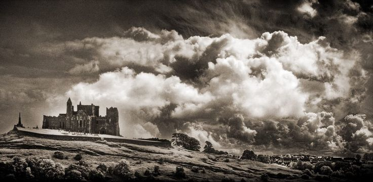 The Rock Of Cashel, county Tipperary, Ireland.   Photograph by Colm Jackson.  http://www.colmjackson.com