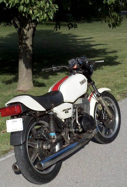 1979 Yamaha RD400F  I knew a guy that had a cherry Daytona special, once. Oh what an emotional ride it was