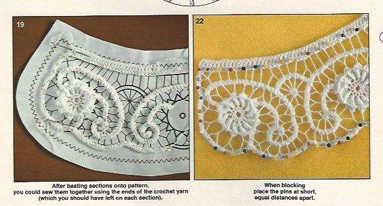 Macramé Style Crochet (Romanian Point Lace) in Anna Burda, March 1981 | Fiber Art Reflections