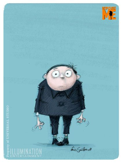 #eric_guillon #illustrateur #graphiste #illustrator #illustration #color #couleur #dessins #sketch #croquis #gru #gru_young #moi_moche_et_méchant #despicable_me #minion #minions #illumination_entertainment #universal_studio #noipic