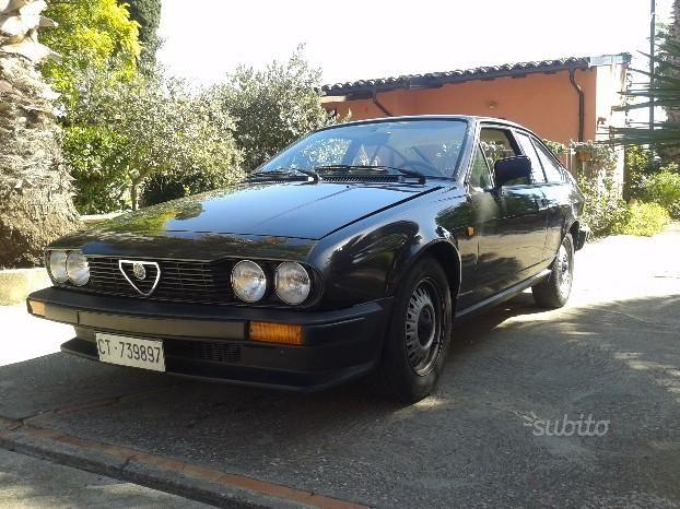 ALFA ROMEO Alfetta GT/GTV - 1982