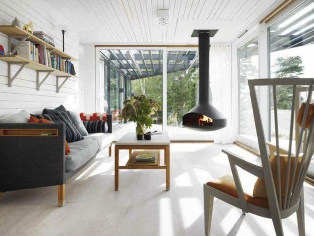20 inspiring scandinavian design interior spaces for Scandinavian farmhouse plans