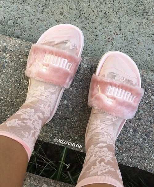 100 Ideas To Try About Nike Puma Faux Fur Sandals