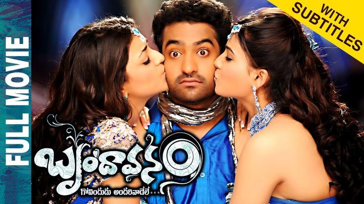 Brindavanam Telugu Full Movie w/subtitles | NTR | Samantha | Kajal Aggar...