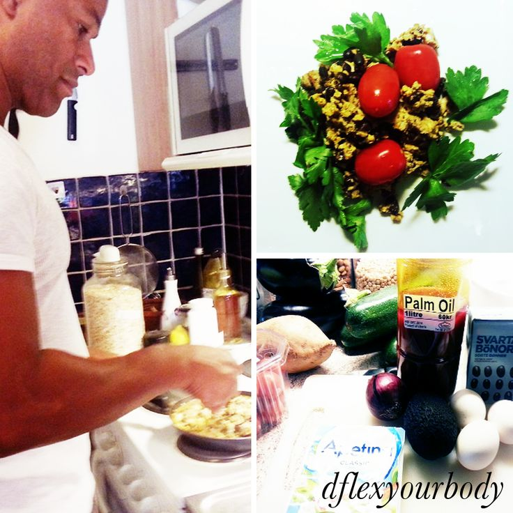 Äggröra med tonfisk och bönor http://bloggar.aftonbladet.se/dflexyourbody/2013/08/protein-bomb-med-rod-palm-olja/ #recept, #palmolja, #mat, #kost, #healthfood, #foodporn
