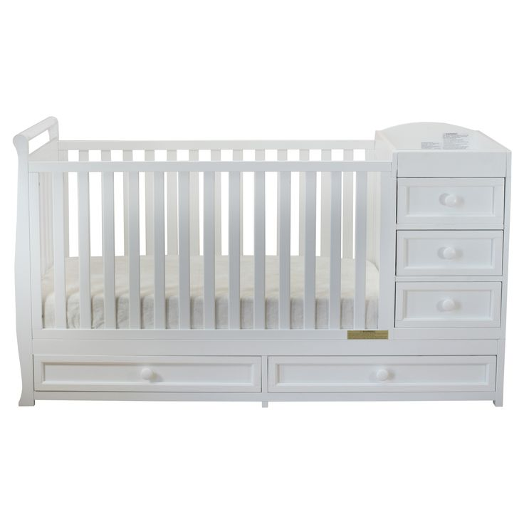 Non Toxic Easy Care Finish.  It Converts From Crib To A Youth Bed.  You  Will Need A Custom Mattress When Usi