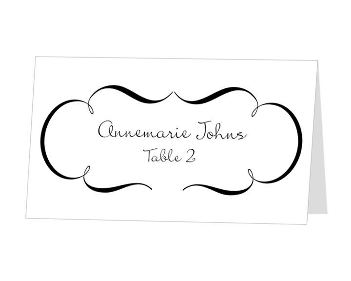 Best Janes Wedding Images On Pinterest Wedding Fun Wedding - Wedding place card templates free download