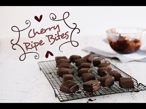 Cherry Ripe Bites   | FOOD MATTERS®