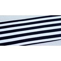 Lillestoff, B&W Striped Organic French Terry Sweat
