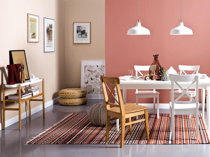 Jadalnia - paleta Hazy, kolekcja kolorów Tikkurila Color Now 2017