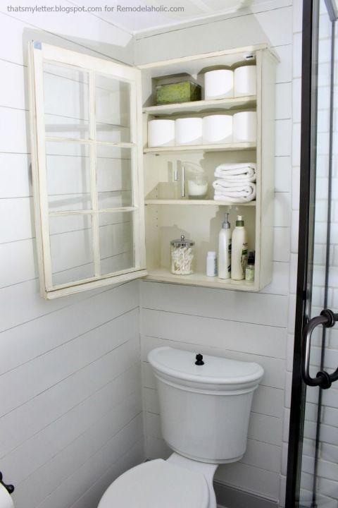 Badezimmerschrank 1 Diy Badezimmerspiegel Badezimmer Aufbewahrung Fur Kleines Badezimmer