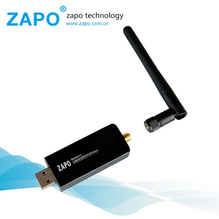 ZAPO 600M USB WiFi receiver Wireless Network Card 802.11 ac/b/g/n LAN Adaptador Bluetooth 4.0 adapter Antenna Dual Band 2.4G-5G