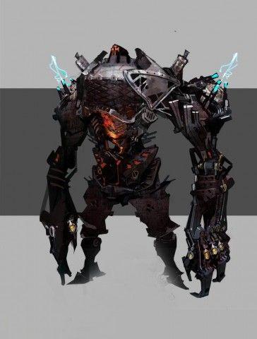 Monster Concept Art of Project Gigantic Revealed