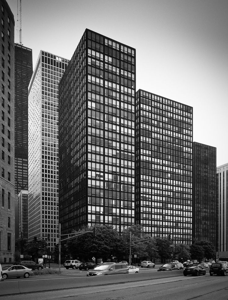 Lake Shore Drive Apartments Chicago, Illinois Mies van der Rohe, Arch. 1948-1951