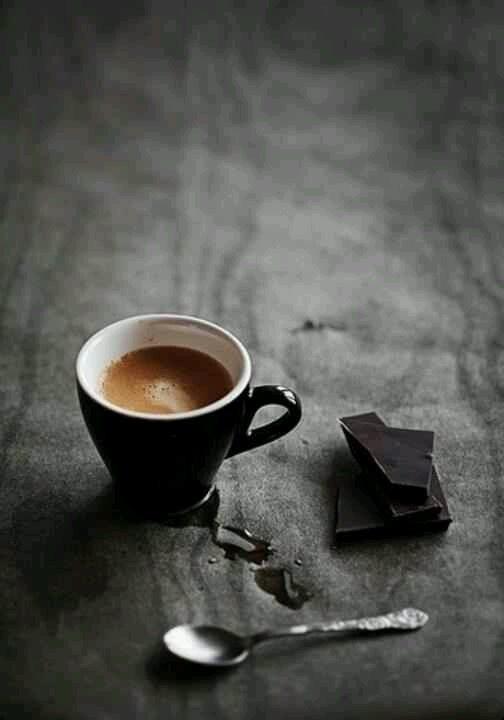 coffee and chocolate mornings...
