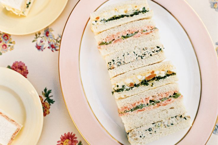 These chicken and trout finger sandwiches are ideal for passing around at cocktail parties or serve them as a light lunch at your next book club meeting.