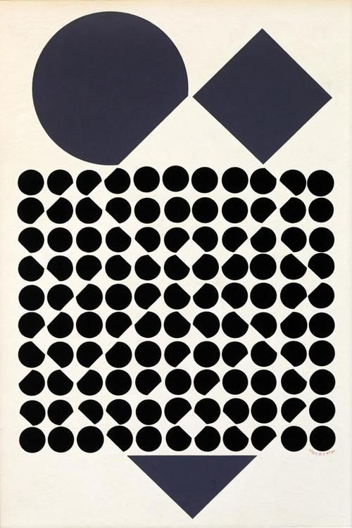 VICTOR VASARELY (1906-1997) CASSIOPEE II PRIMARY YELLOW