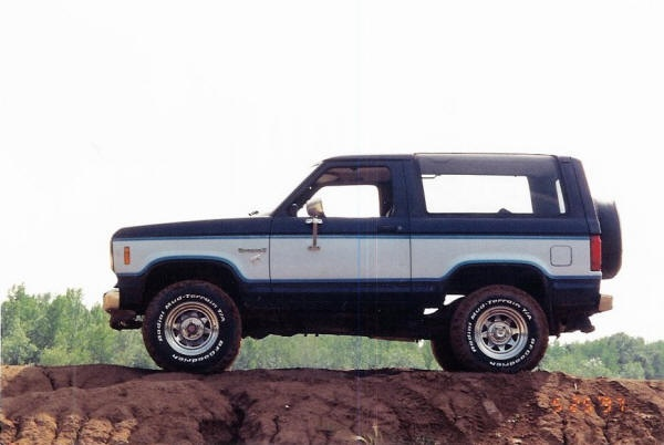 85 Ford Bronco II. First vehicle I ever owned.