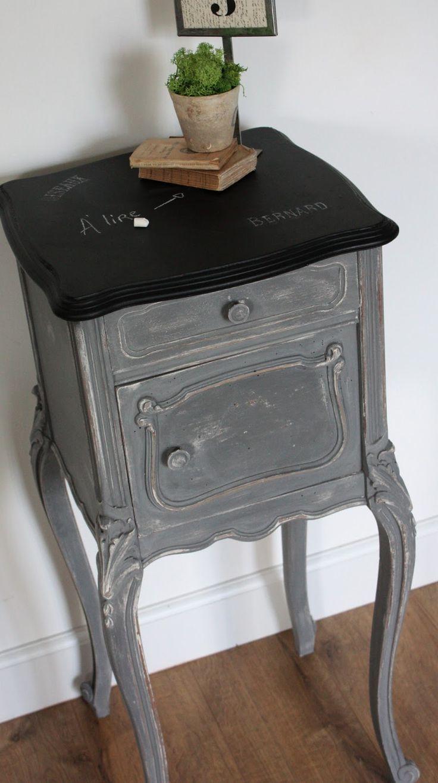 Les 25 meilleures id es de la cat gorie meubles anciens - Repeindre un abat jour ...