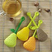 Perfect Pear Shaped Silicone Tea Infuser Favo... – USD $ 3.99