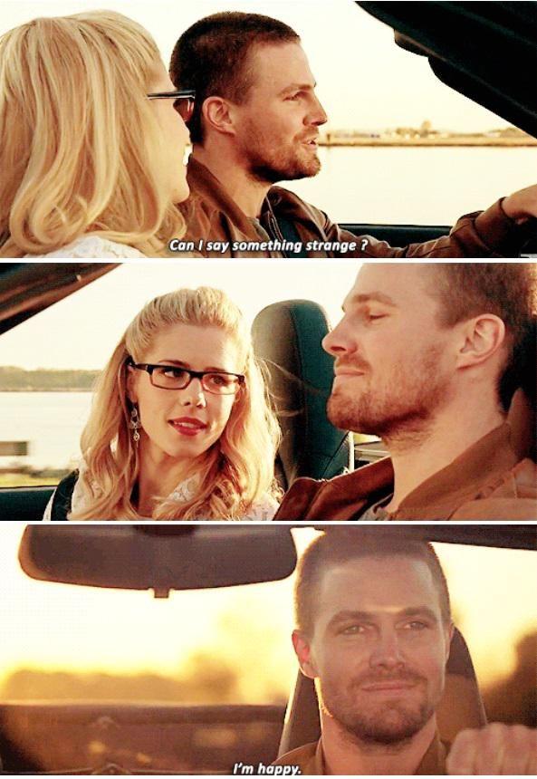 I really love this ending!! Arrow - Oliver & Felicity #3.23 #Season3 #Olicity <3