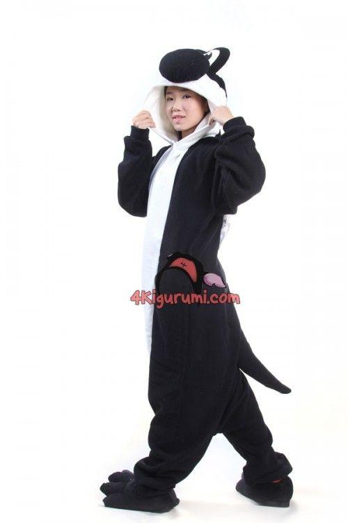 4c033088d645 Black Yoshi Kigurumi