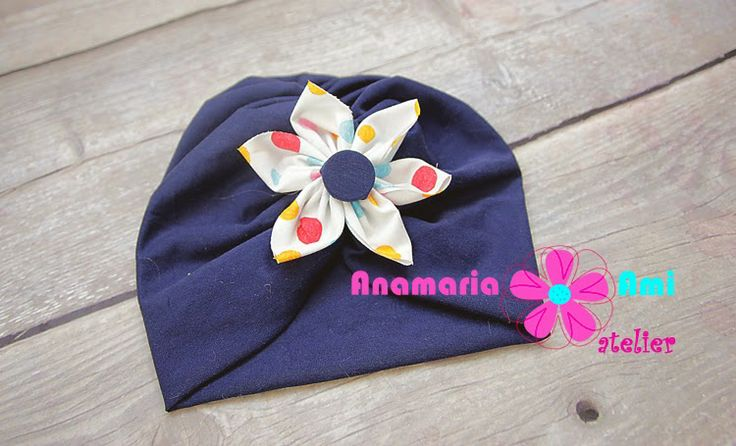 Turban baby hats by Anamaria Ami