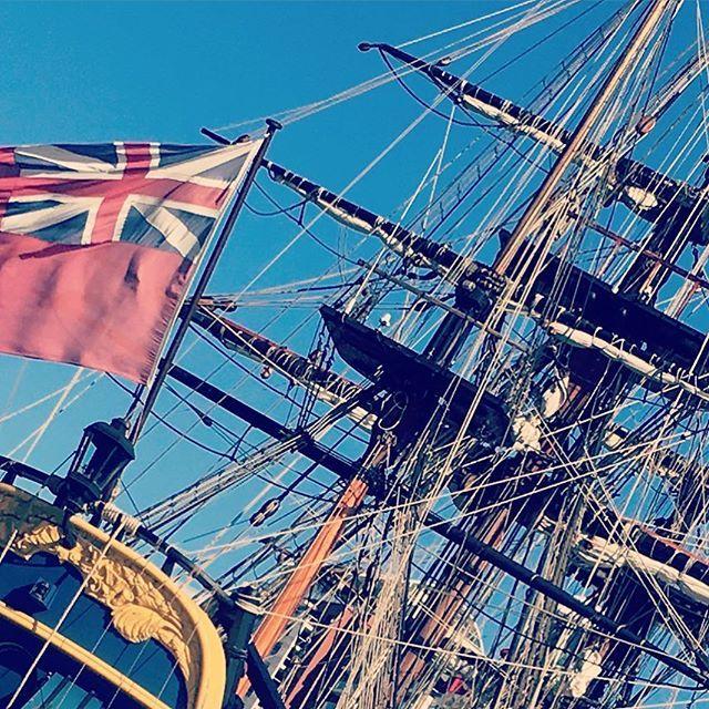 #sydney #australia #photography #flag #darlingharbour #iphonesia #ship #history #spottedinsydney