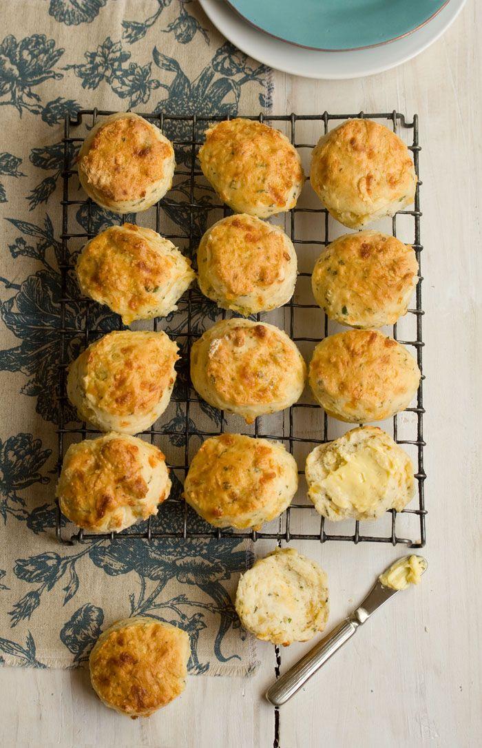 Hmmm Cheddar, sprite and herbs scones
