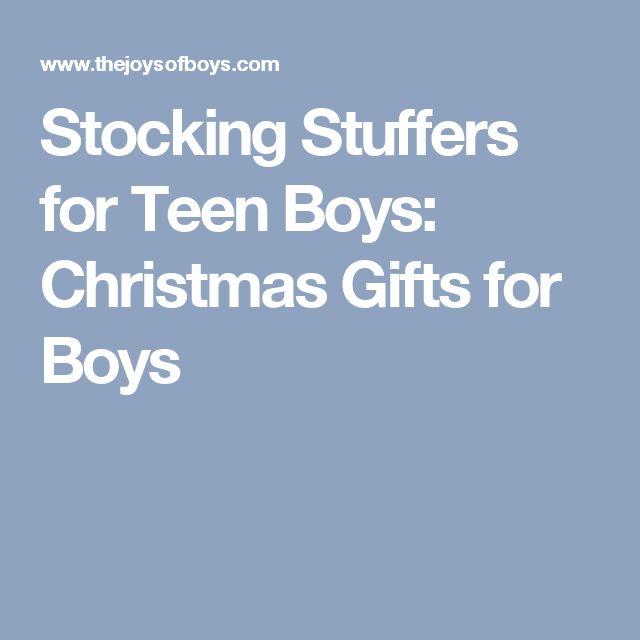 Stocking Stuffers for Teen Boys: Christmas Gifts for Boys
