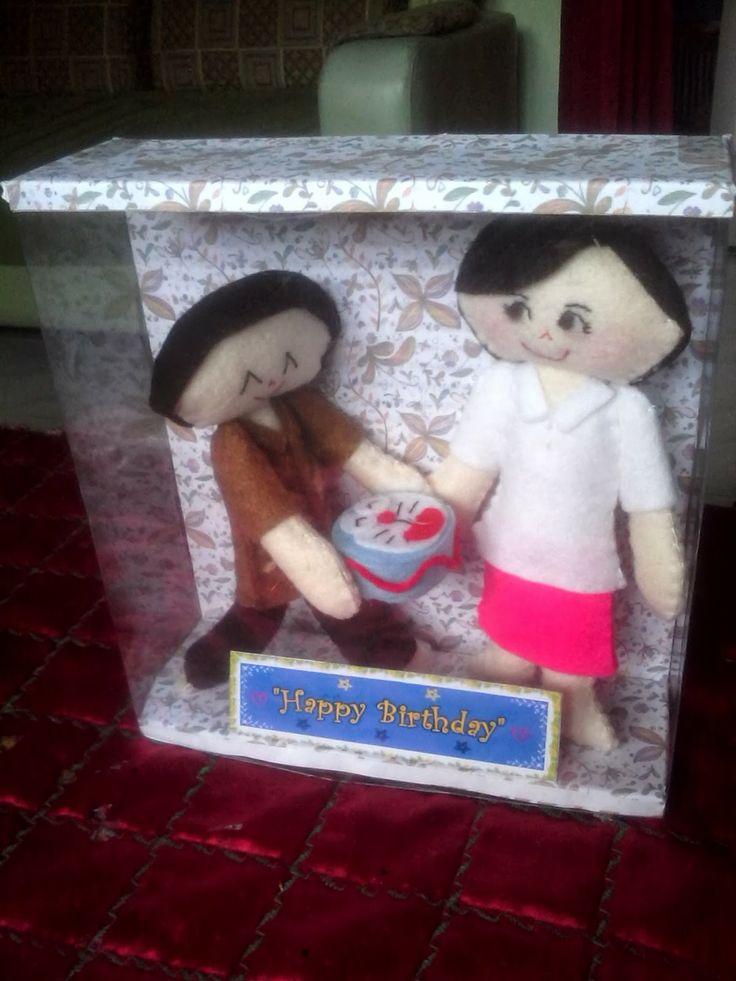 noVel Craft Store: Boneka Ulang Tahun