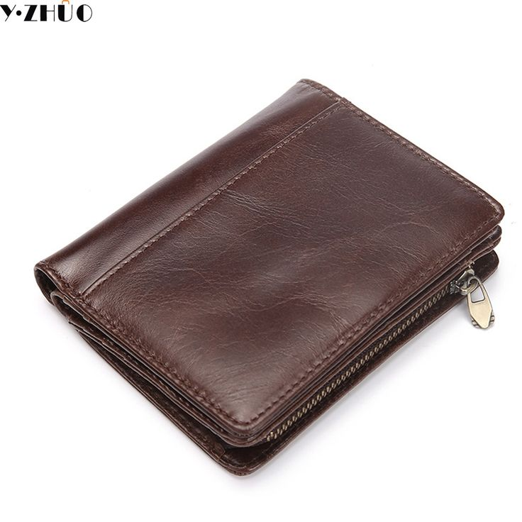 genuine leather men wallet small mens bag short clutch men leather purse really cowhide money bag leather wallets new hot