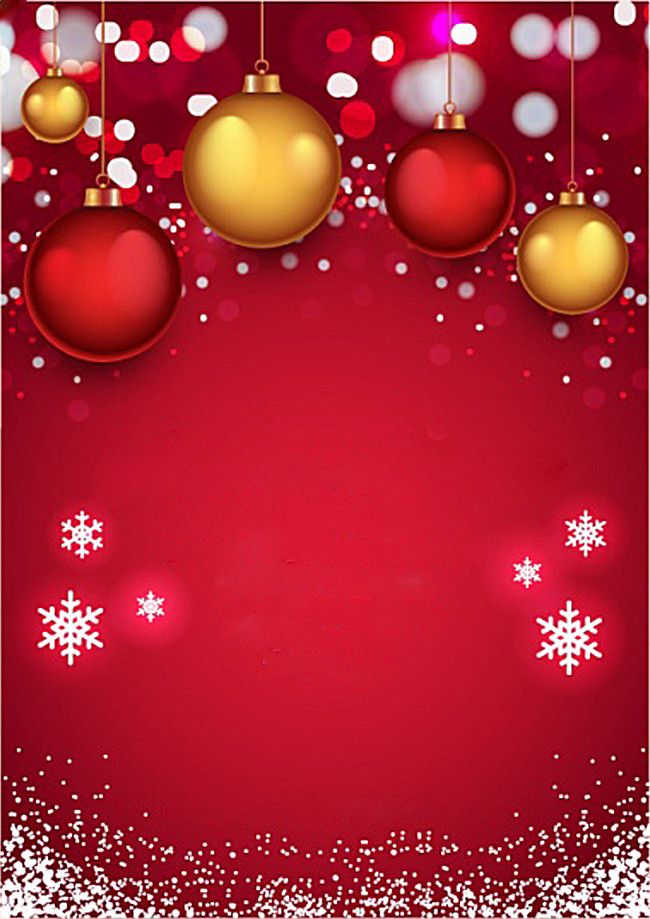 red christmas invitation background