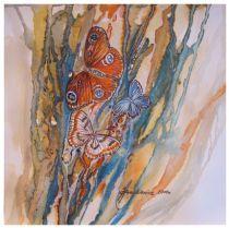 <p>Motyl 11 Akwarela 25x25 cm Dostępna</p>