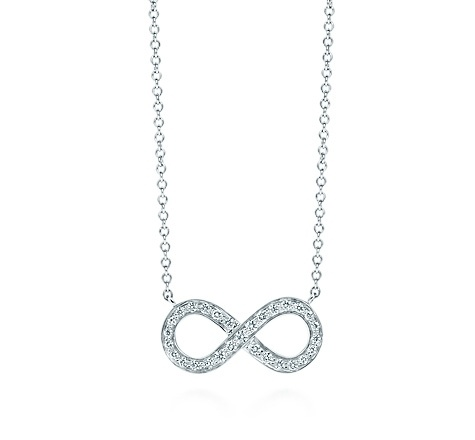 Tiffany & Co. | Item | Tiffany Infinity pendant in platinum with diamonds. | United States