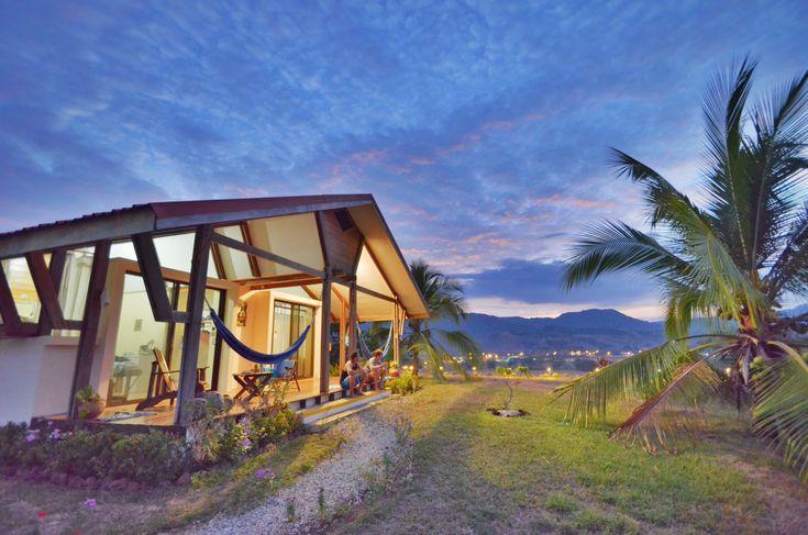 Peaceful night after a long days of activities at Vista Guapa Surf Camp Costa Rica