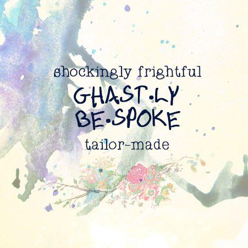 skulduggery pleasant: ghastly bespoke