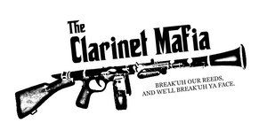 """""""the clarinet mafia, break our reeds and we'll break your face!"""""""